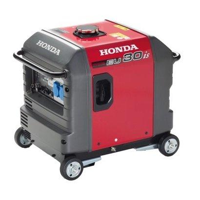 Honda EU30is réside dans le fait qu'il est extrêmement compact.