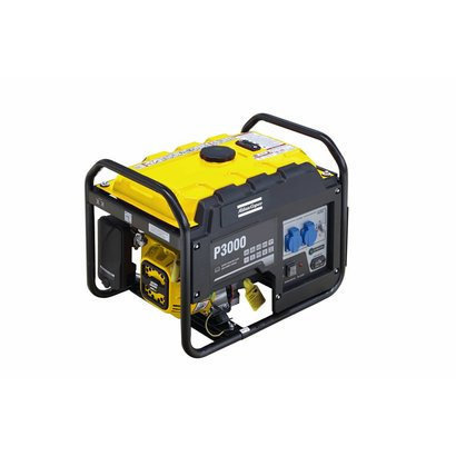 Atlas Copco P3000 is ideal for residential use, small businesses, construction, camping,