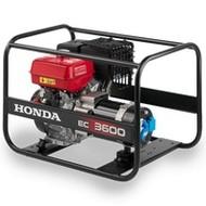 Honda EC3600 - 58 kg - 3600W - 85 dB - Aggregaat