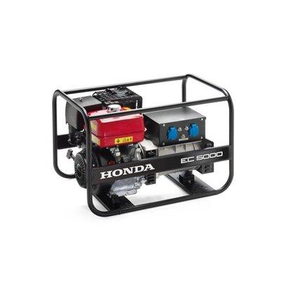 Honda EC5000 voor industrieel- en bouwgereedschap.