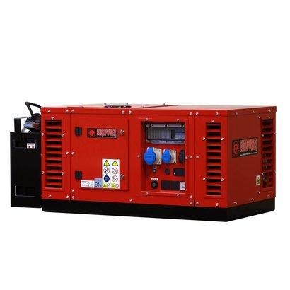 Europower EPS10000E | Meest lichte 10 kVA geluidgedempte aggregaat