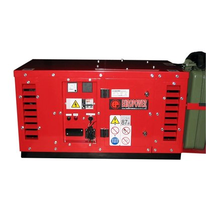 Europower EPS2500DE | Super-schallgedämmte 2,5 kVA Stromerzeuger mit Hatz motor