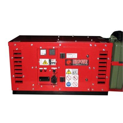 Europower EPS2500DE | Super Stille Aggregaat 2,5 kVA met Yanmar Diesel motor