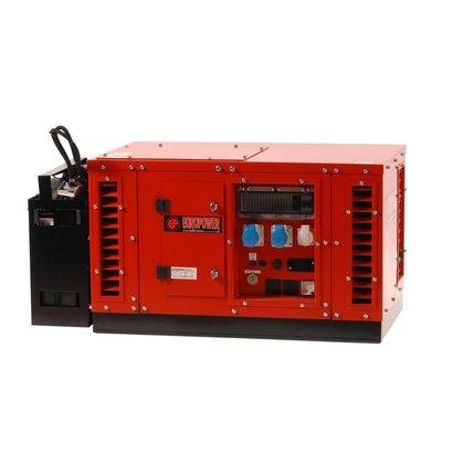 Europower EPS3500DE | Super-schallgedämmte 3 kVA Stromerzeuger mit Kubota Motor