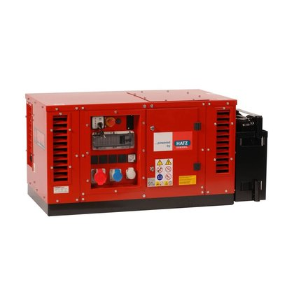 Europower EPS7000TDE | Super-schallgedämmte 7 kVA Stromerzeuger mit Hatz Motor