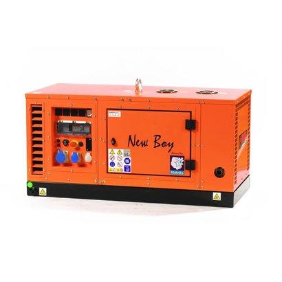 Kubota EPS123DE 12 kVA groupes électrogène super-insonorisés avec moteur diesel