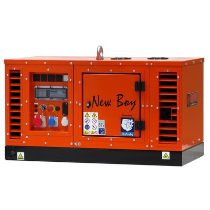 Kubota EPS83DE | Super-silenced 8 kVA generating set with water-cooled diesel engine