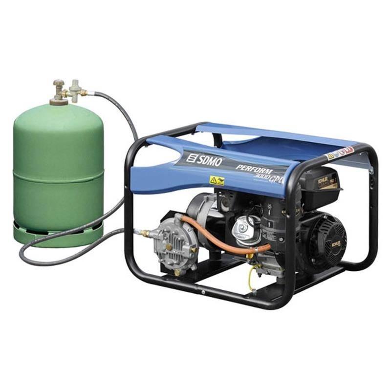 LPG/Butaan/Propaan gas - Aggregaten