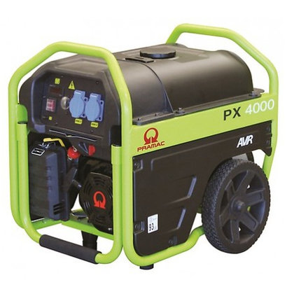 Pramac PX4000 very complete generator with roll cage design