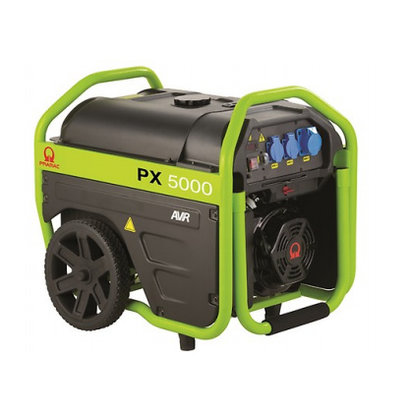Pramac PX5000 very complete generator with roll cage design