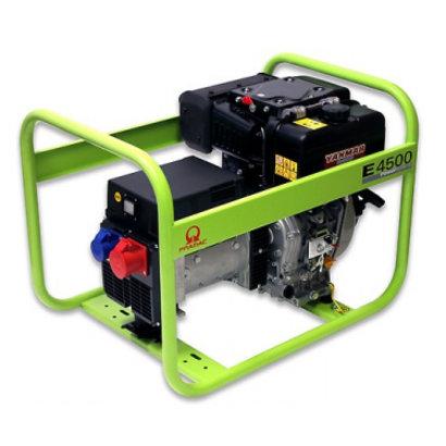 Pramac E4500 400V Groupe Electrogène 4,7 kVA E4500 Diesel