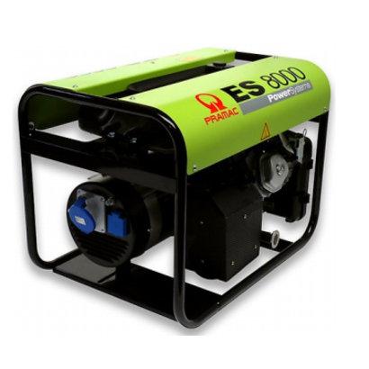 Pramac ES8000 benzine aggregaat met AVR technologie