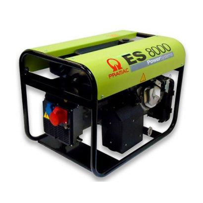 Pramac ES8000 Benzin-Stromerzeuger ES 8000 Benzin-Generator 230/400V - 4,0 / 8,3 kVA