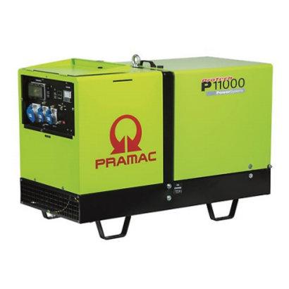 Pramac P11000 Groupe Électrogène 9.5 kVA Essence 230V avec AVR et Prise CONN PRAMAC P11000