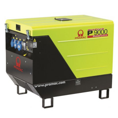 Pramac P9000 Stromerzeuger Diesel-Generator P9000 E-Start 400V - 10,6 kVA