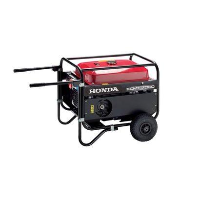 Honda ECMT 7000 unités de l'essence avec des roues de transport