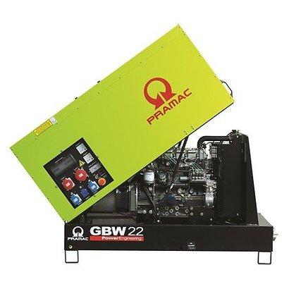 Pramac GBW 22P Diesel Generator 1500 rpm with soundproof enclosure
