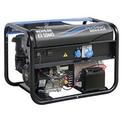 Kohler SDMO Technic 6500 E AVR M - 101 kg - 6500 W - 69 dB - Aggregaat