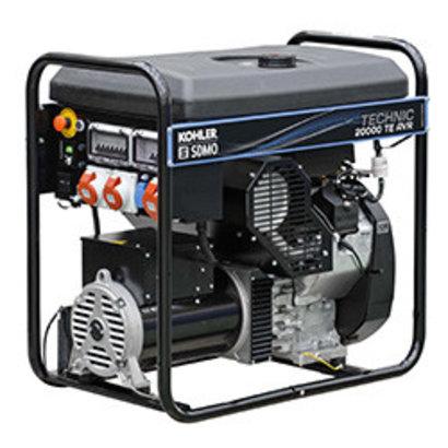 Kohler SDMO Technic 20000 TE AVR C - 188 kg - 19 kVA -74 dB - Generator