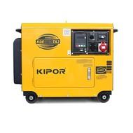 Kipor KDE6700TA3 - 180 kg - 6 kVA - 72 dB - Aggregaat