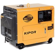 Kipor KDE6700TA - 180 kg - 6 kVA - 72 dB - Groupe électrogène