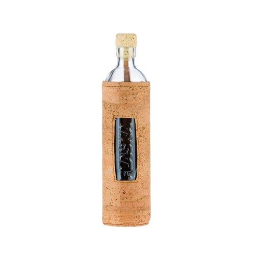 Flaska Water Bottle Waterfles Natuurlijk Kurk