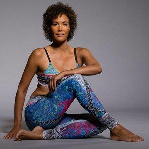 Onzie Yoga Wear Graphic Legging - Indo mix (XS)