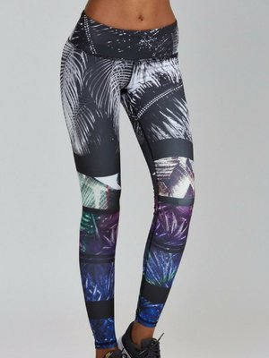 Noli Yoga Wear Concrete Jungle Legging (M)