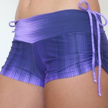 LaLa Land Yoga Wear Baby Cake Shorts - Crystal