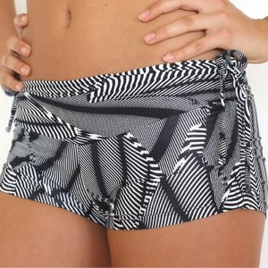 LaLa Land Yoga Wear Baby Cake Shorts - Koro Sea (S)