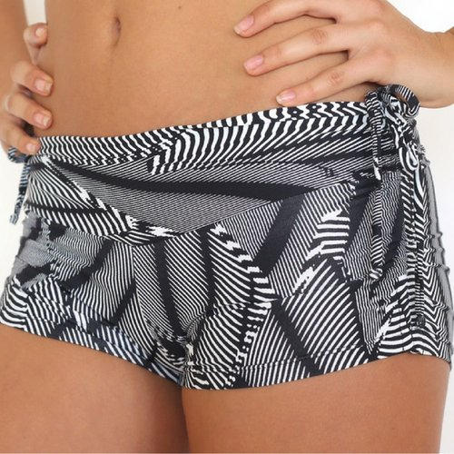 LaLa Land Yoga Wear Baby Cake Shorts - Koro sea