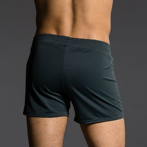 Onzie Yoga Wear Classic Mens Short - Charcoal