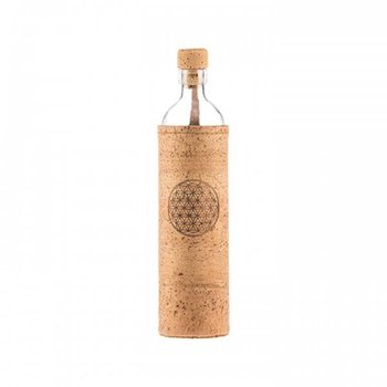Flaska Water Bottle Waterfles Kurk Flower of Life