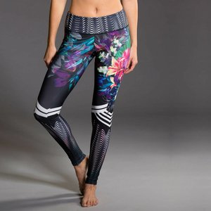 Onzie Yoga Wear Graphic Legging - Tiger Lily