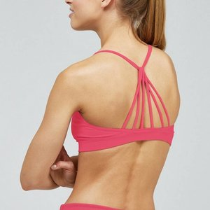 Noli Yoga Wear Ivy Bra Top - Rouge