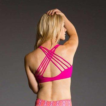 Onzie Yoga Wear Chic Bra Top - Summer Rose