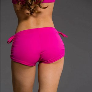 Onzie Yoga Wear Side String Short - Summer Rose