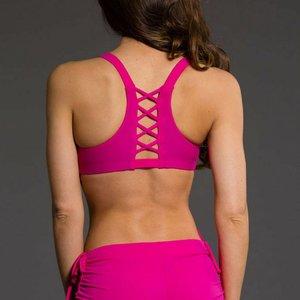 Onzie Yoga Wear Weave Bra - Summer Rose (XS/S/M/L)