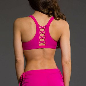Onzie Yoga Wear Weave Bra - Summer Rose