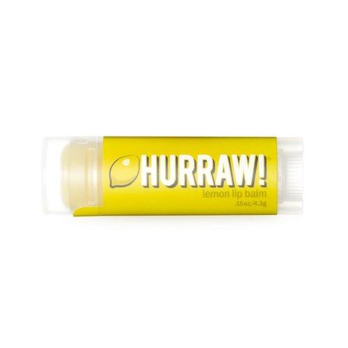 Hurraw! Lipbalm Lippenbalsem Citroen