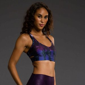 Onzie Yoga Wear Wrap Bra - Late Night