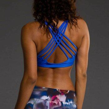 Onzie Yoga Wear Chic Bra Top - Moonlight Blue