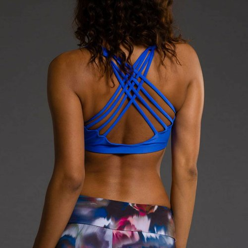 Onzie Yoga Wear Chic Bra Top - Moonlight Blue