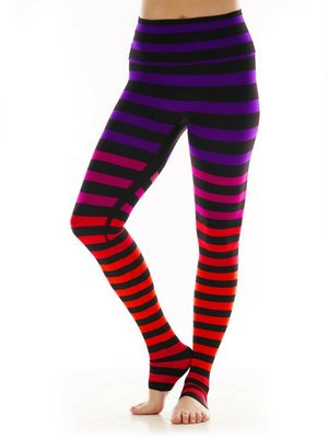 K-DEER Stripe Legging - Sophia Stripe (S/M/L/XL)