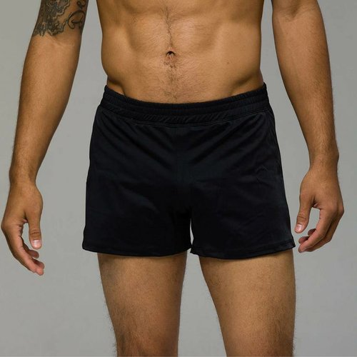 Onzie Yoga Wear Classic Mens Short - Black