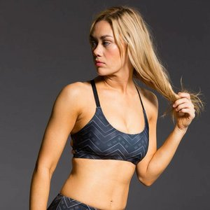 Onzie Yoga Wear X Back Elastic Bra Top - Cairo
