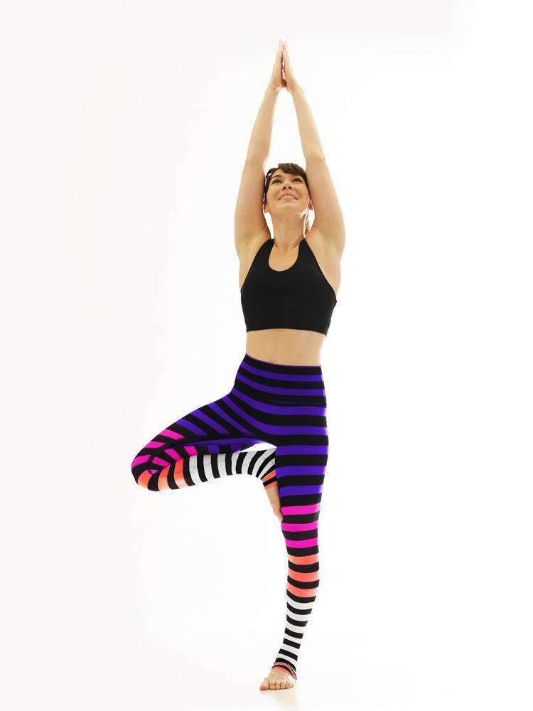 K-DEER Colleen Stripe legging