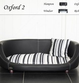 Chester & Wells Oxford II Hondenbank large zwart
