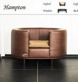 Chester & Wells Hampton hundesofa small braun