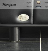 Chester & Wells Hampton Hondenbank small zwart